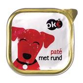 Oke Hondenvoer Paté Met Rund voorkant