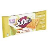 Sultana Fruitbiscuit Peer achterkant