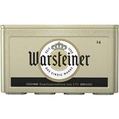 Warsteiner pils krat 24x30 cl voorkant