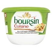 Boursin Cuisine Roomkaas Knoflook-Tuinkruiden voorkant