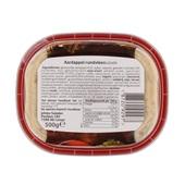 Johma Salade Fijne Rundvlees achterkant