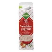 Melkan Magere Fruityoghurt Aardbei voorkant