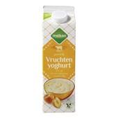 Melkan Magere Fruityoghurt Perzik voorkant