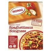 Honig Pastasausmix Spaghetti Bolognese voorkant