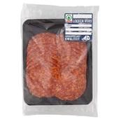 Spar Chorizo achterkant