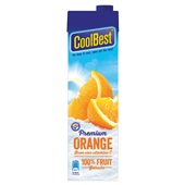 Coolbest Vruchtensap Orange voorkant