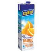 Coolbest Vruchtensap Orange achterkant