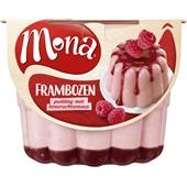 Mona Pudding Framboos voorkant