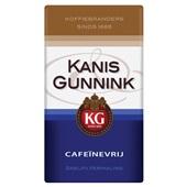 Kanis - Gunnink snelfilerkoffie Cafeïnevrij voorkant