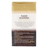 Kanis - Gunnink Snelfilterkoffie regular achterkant