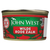 John West Rode Zalm voorkant