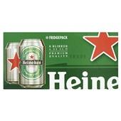 Heineken Pils Fridgepack  8 X 33 voorkant