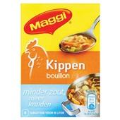 Maggi Bouillon Blok Kip Minder Zout voorkant