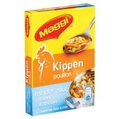 Maggi Bouillon Blok Kip Minder Zout achterkant