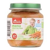 Bonbébé Baby/Peuter Maaltijd Menu Met Worteltjes voorkant