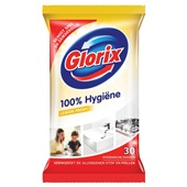 Glorix Allesreiniger Hygiënische Doekjes Lemon Fresh voorkant