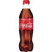 Coca Cola Regular Cola Fles 500 Ml voorkant