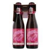 Wittekerke Speciaalbier Rose Fles 6X25 Cl achterkant