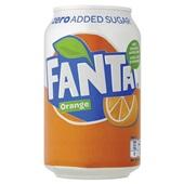 Fanta Frisdrank Orange Zero Blik 33cl voorkant