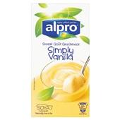 Alpro zuivel houdbaar Dessert vanille voorkant