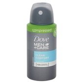 Dove Men + Care deodorant Compressed Clean Comfort achterkant