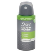 Dove Men + Care deodorant Compressed Extra Fresh achterkant