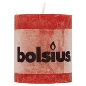 Bolsius Stompkaars Rood voorkant