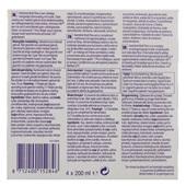 Nutricia MF Vanille 4x200 ml achterkant