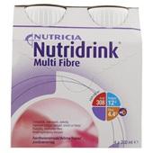 Nutricia MF Aardbei 4x200 ml voorkant
