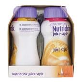 Nutricia Juice Style Sinaas 4x200 ml achterkant