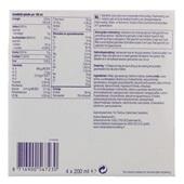 Nutricia Juice Style Aardbei 4x200 ml achterkant