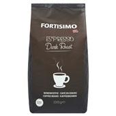 Fortisimo Koffie Espressobonen Dark voorkant