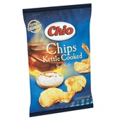 Chio Chips Kettle Cooked Seasalt achterkant