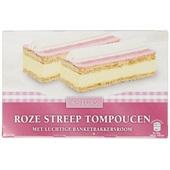 Quality Pastries roze streep tompouchen voorkant