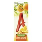 Appelsientje sinaasappelsap met extra vruchtvlees voorkant