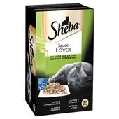 Sheba Sauce Lovers Kattenvoer Vlees En vis voorkant