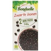Bonduelle groentenconserven Zwarte bonen 2xminipacks voorkant