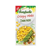 Bonduelle groentenconserven Crispy mais 2x minipacks voorkant