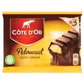 Côte d'Or Chocolade Gevulde Reep Met Advocaat voorkant