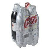First Choice Cola Light achterkant
