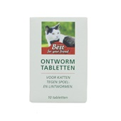 Best for your Friend Ontwormingskuur voor de kat voorkant