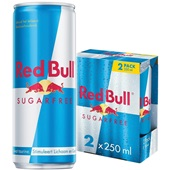 Red Bull Sugerfree 2-pack voorkant