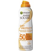 Ambre Solaire Zonnebrand Dry Protect Spray factor 50 voorkant