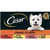 Cesar Classic Hondenvoer Selection Multipak voorkant