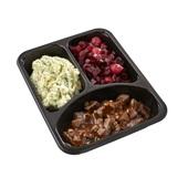 Culivers (5) hachee, rode bietjes met zilveruitjes en aardappelpuree met tuinkruiden achterkant
