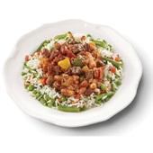 Culivers (12) chili con carne met een rijst-groenteschotel voorkant