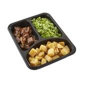 Culivers (11) Limburgs zuurvlees met snijbonen en gebakken aardappeltjes  achterkant