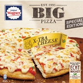 Wagner Big Pizza Extra cheese voorkant