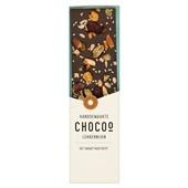 Chocoo Chocoladereep puur met notenmix voorkant