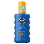 Nivea Sun Kids zonnebrandcrème Zonnespray Factor 50+ voorkant